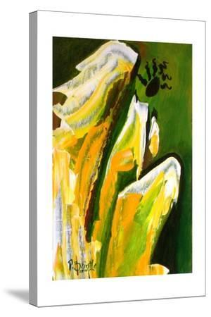 Angel of Reverence, 2010-Patricia Brintle-Stretched Canvas Print