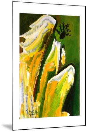 Angel of Reverence, 2010-Patricia Brintle-Mounted Giclee Print