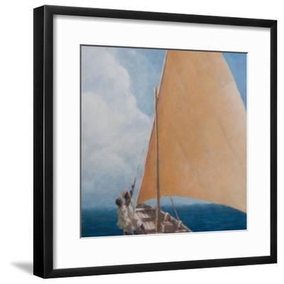Dhow, Kilifi, 2012-Lincoln Seligman-Framed Premium Giclee Print