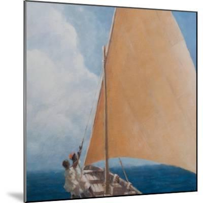 Dhow, Kilifi, 2012-Lincoln Seligman-Mounted Premium Giclee Print