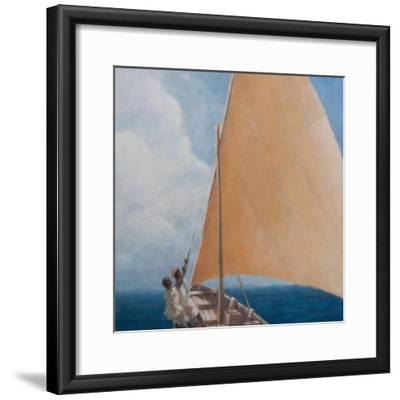 Dhow, Kilifi, 2012-Lincoln Seligman-Framed Giclee Print