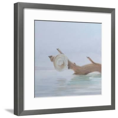 Hat on the Creek, 2012-Lincoln Seligman-Framed Giclee Print