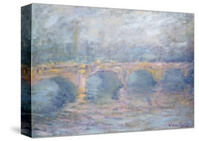 Waterloo Bridge, London, at Sunset, 1904-Claude Monet-Stretched Canvas Print