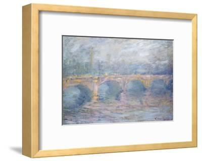 Waterloo Bridge, London, at Sunset, 1904-Claude Monet-Framed Giclee Print