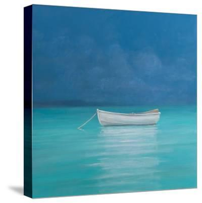 White Boat, Kilifi 2012-Lincoln Seligman-Stretched Canvas Print