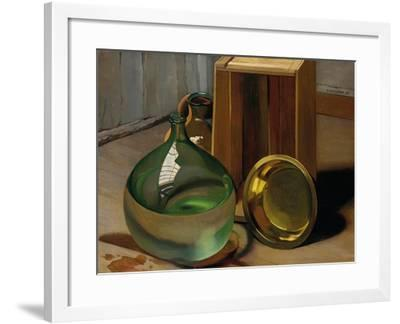 Dame-Jeanne and Caisse, 1925-F?lix Vallotton-Framed Giclee Print