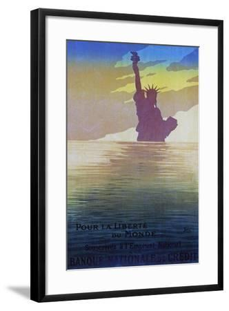 """For the Freedom of the World"", 1917-Sem-Framed Giclee Print"
