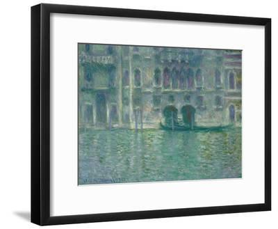 Palazzo Da Mula, Venice, 1908-Claude Monet-Framed Giclee Print