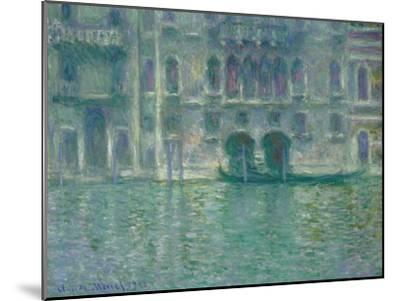 Palazzo Da Mula, Venice, 1908-Claude Monet-Mounted Giclee Print