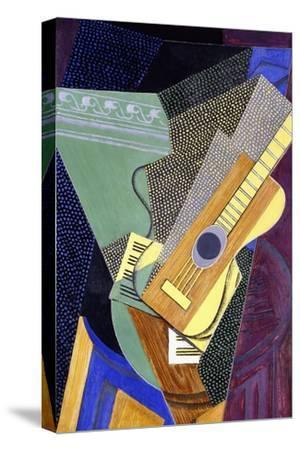 Guitar on a Table; Guitare Sur Une Table, 1916-Juan Gris-Stretched Canvas Print