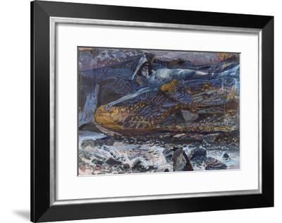 The Demon Downcast-Mikhail Alexandrovich Vrubel-Framed Giclee Print