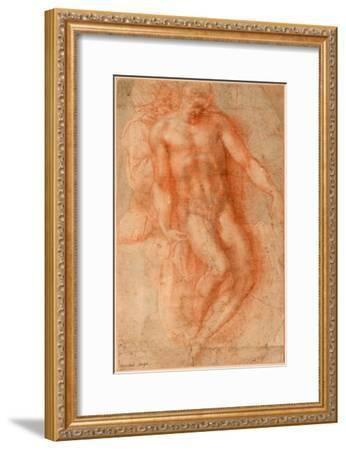 Pieta-Michelangelo Buonarroti-Framed Giclee Print