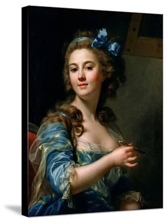 Self-Portrait-Marie-Gabrielle Capet-Stretched Canvas Print