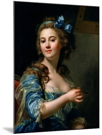 Self-Portrait-Marie-Gabrielle Capet-Mounted Giclee Print