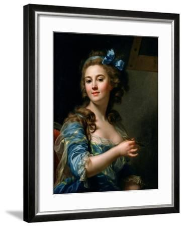 Self-Portrait-Marie-Gabrielle Capet-Framed Giclee Print