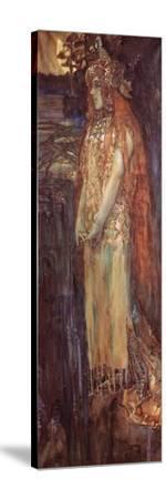 Singer Nadezhda Zabela-Vrubel As Princess Volkhova in the Opera Sadko--Stretched Canvas Print
