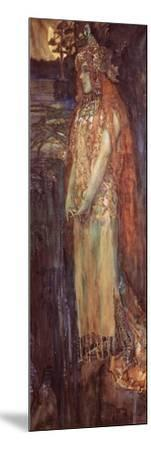 Singer Nadezhda Zabela-Vrubel As Princess Volkhova in the Opera Sadko--Mounted Giclee Print