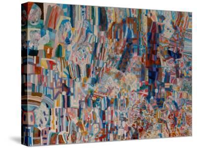 Composition-Pavel Nikolayevich Filonov-Stretched Canvas Print