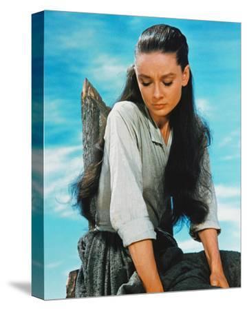 Audrey Hepburn, The Unforgiven (1960)--Stretched Canvas Print