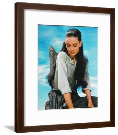 Audrey Hepburn, The Unforgiven (1960)--Framed Photo