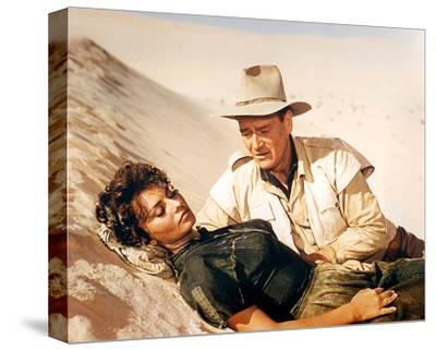Legend of the Lost (1957)--Stretched Canvas Print