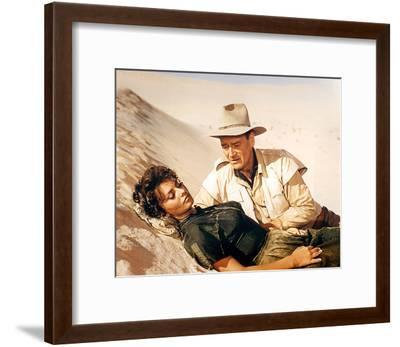 Legend of the Lost (1957)--Framed Photo
