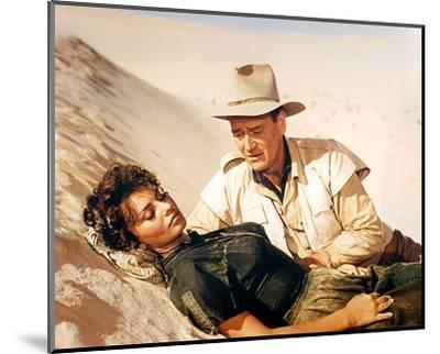 Legend of the Lost (1957)--Mounted Photo