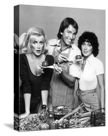 Three's Company (1977)--Stretched Canvas Print