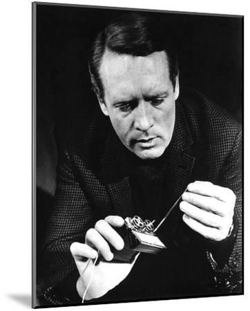 Patrick McGoohan, Danger Man (1964)--Mounted Photo