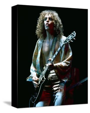 Peter Frampton--Stretched Canvas Print