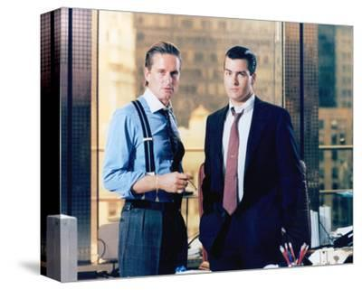 Wall Street (1987)--Stretched Canvas Print