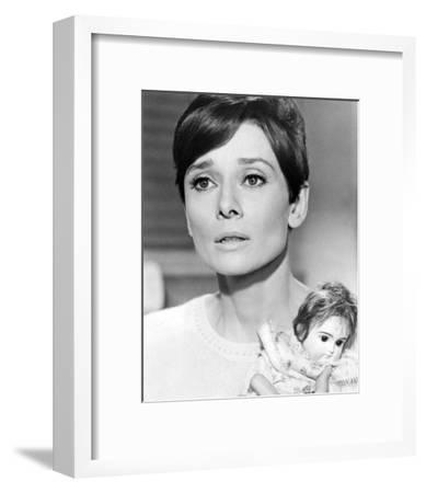 Audrey Hepburn, Wait Until Dark (1967)--Framed Photo