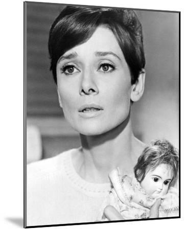 Audrey Hepburn, Wait Until Dark (1967)--Mounted Photo