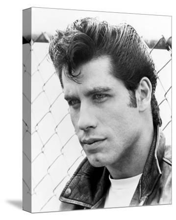 John Travolta, Grease (1978)--Stretched Canvas Print
