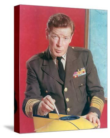 Richard Basehart, Voyage to the Bottom of the Sea (1964)--Stretched Canvas Print