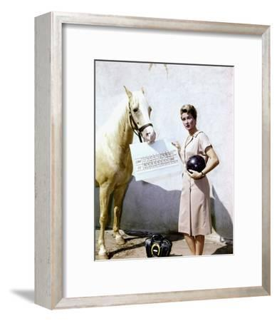 Mr. Ed--Framed Photo