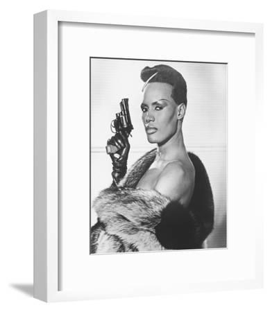Grace Jones, A View to a Kill (1985)--Framed Photo