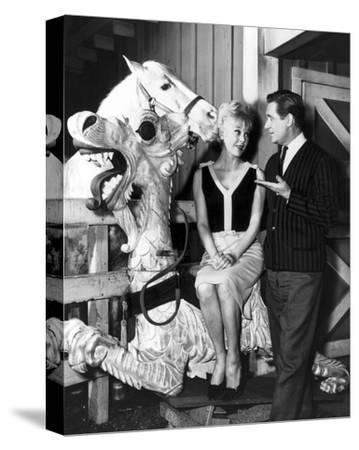 Connie Hines, mister ed (1958)--Stretched Canvas Print