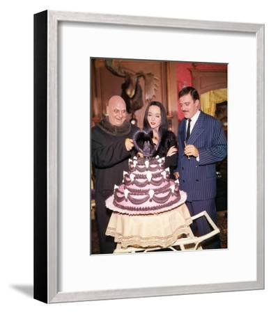 Carolyn Jones, The Addams Family (1964)--Framed Photo