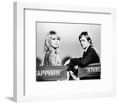 Sapphire and Steel (1979)--Framed Photo