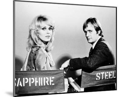 Sapphire and Steel (1979)--Mounted Photo