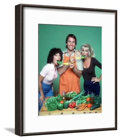 Three's Company--Framed Photo