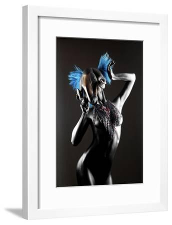Masked Nude-Graeme Montgomery-Framed Photographic Print