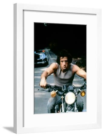 First Blood 1982 Directed by Ted Kotcheff Sylvester Stallone--Framed Photo