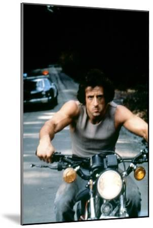 First Blood 1982 Directed by Ted Kotcheff Sylvester Stallone--Mounted Photo
