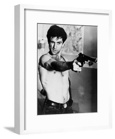 Taxi Driver, Robert De Niro, Directed by Martin Scorsese, 1976--Framed Photo