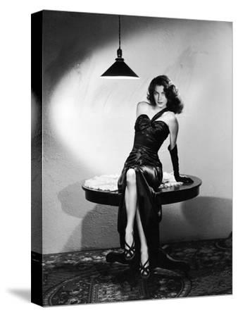 The Killers 1946 Directed by Robert Siodmak Ava Gardner--Stretched Canvas Print