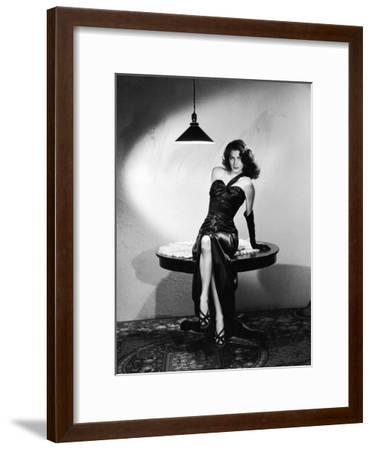 The Killers 1946 Directed by Robert Siodmak Ava Gardner--Framed Photo