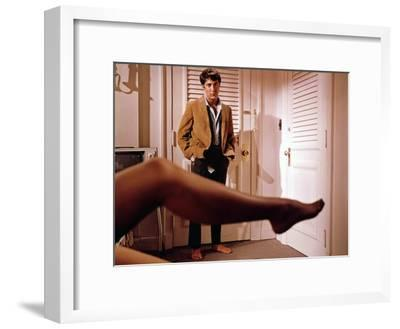 The Graduate, Dustin Hoffman, Directed by Mike Nichols, 1968--Framed Photo