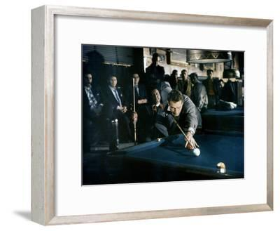 The Hustler, Paul Newman, Directed by Robert Rossen, 1961--Framed Photo
